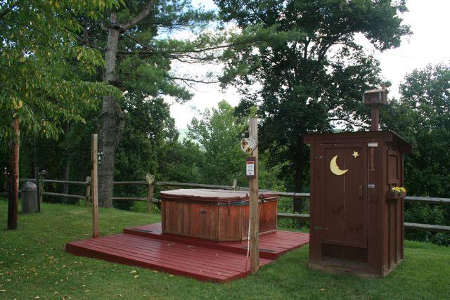 NC Cabin Rental Hot Tub