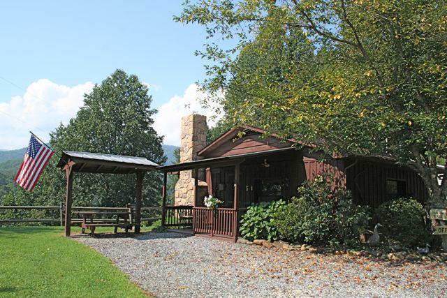 Opossum Rental Cabin Exterior