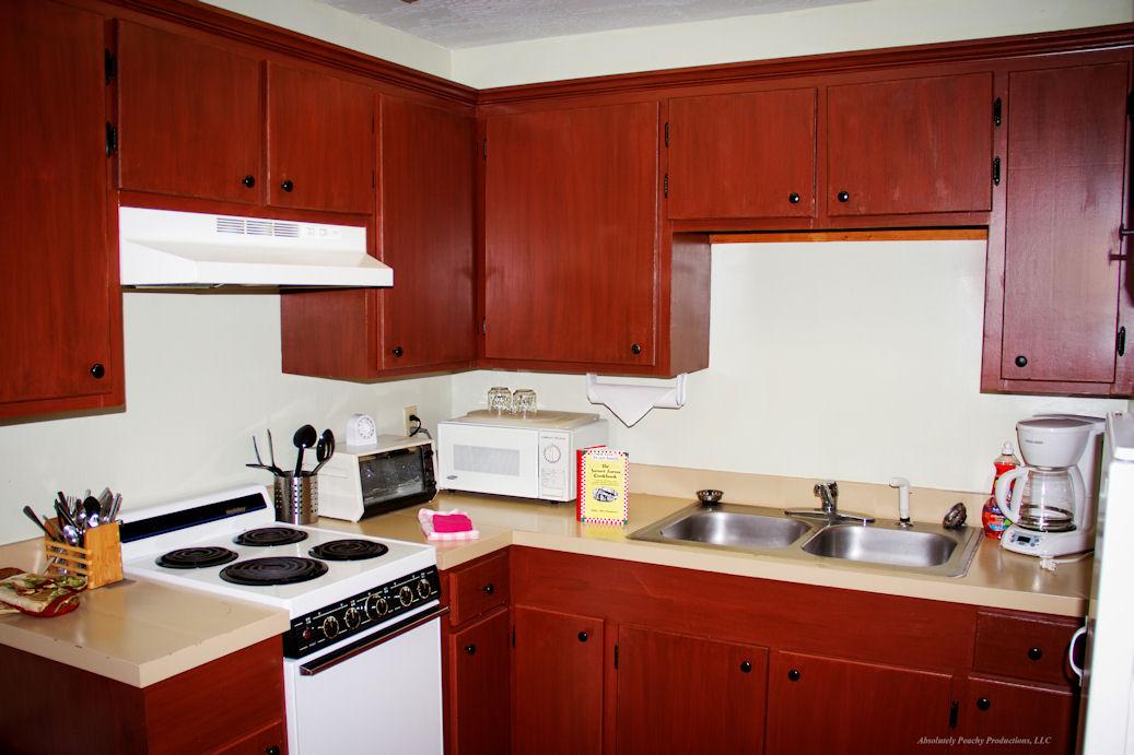 Opossum NC Cabin Rental Kitchen