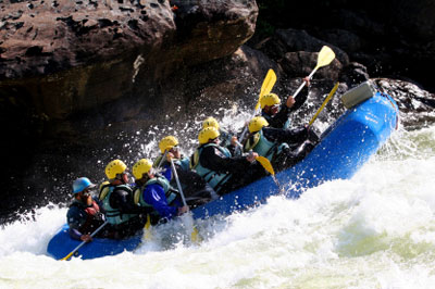 Whitewater Rafting NC