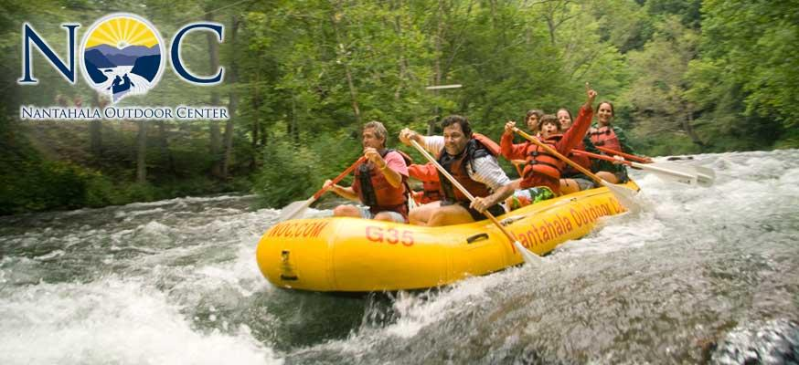 NOC Rafting and Cabin Packages